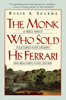 The monk who sold his ferrari,Robin Sharma, Self Improvement, Life Transformation