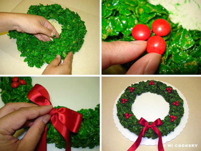 Corn Flake Wreath