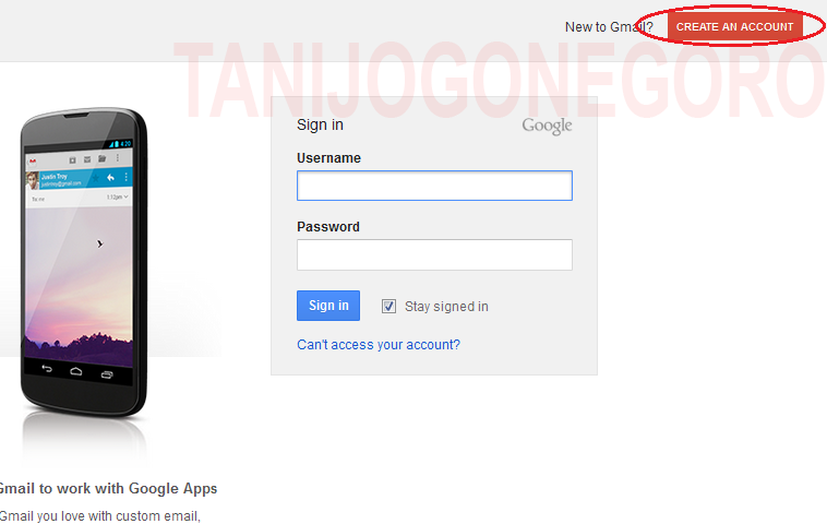 Cara Buat Email Baru atau Daftar Email Baru di Google