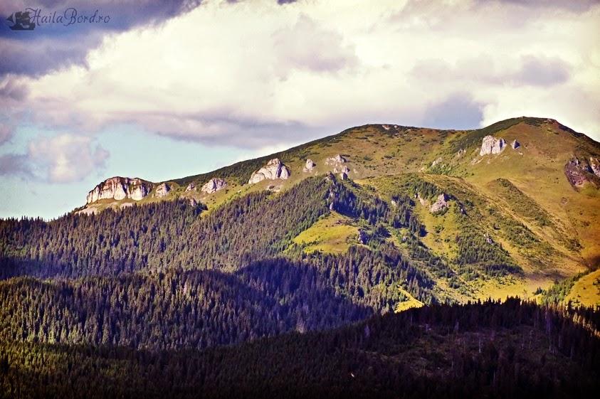 peisaj muntii maramuresului telescaun borsa