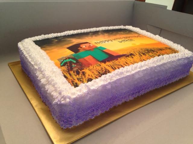 Minecraft Steve Cake