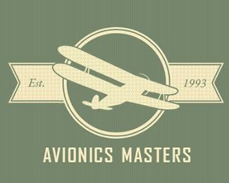 logo bergaya retro