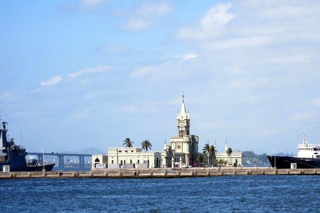Royal palace in Rio de Janeiro Brazil