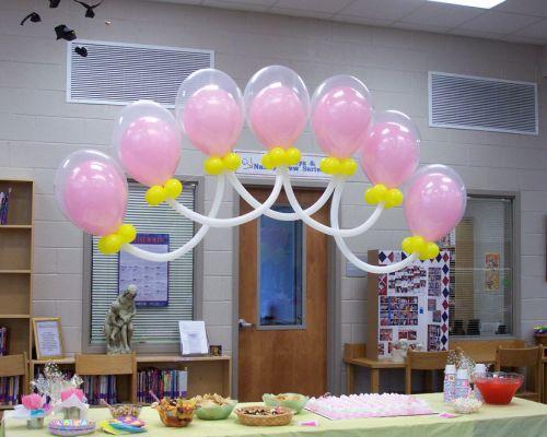 Uso globos 260 en decoración de baby shower ~ Frases de cumpleaños