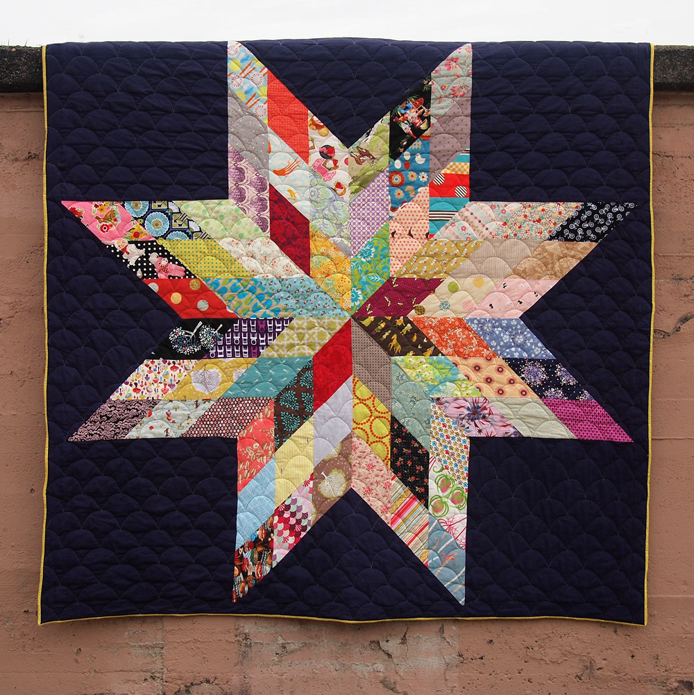 Fancy Tiger Crafts: Jaime's Giant Star Quilt : giant star quilt - Adamdwight.com