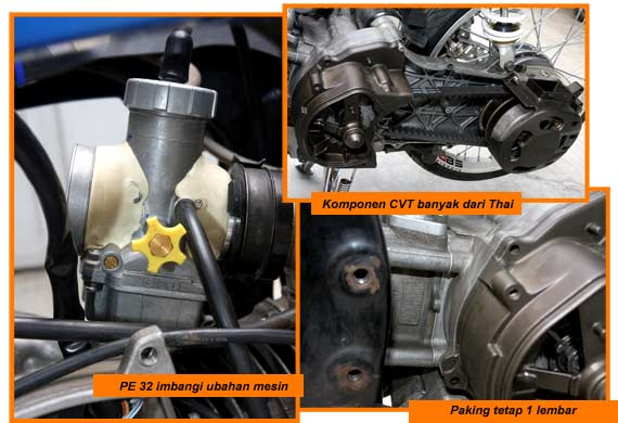 """CBR150 piston used artificial Hi Speed. Have a diameter of 66 mm. """"The"""