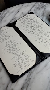 Heathman Restaurant and Bar menu in the Bar area