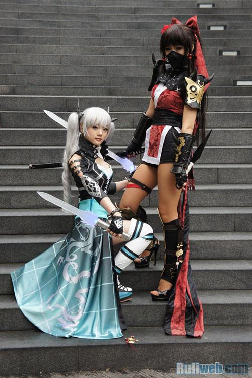Kiều nữ Miyuko hút hồn với cosplay Cyphers 6