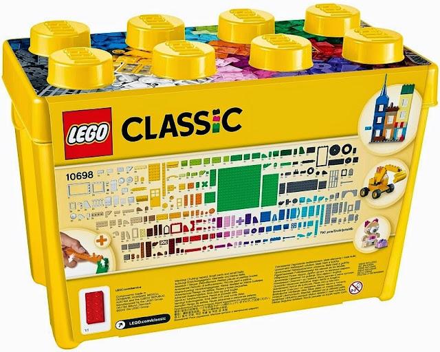 Lego 10698 Thùng gạch lớn sáng tạo được làm từ chất liệu nhựa an toàn