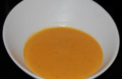 Soupe tomato carotto coco - recette indexée dans les Entrées