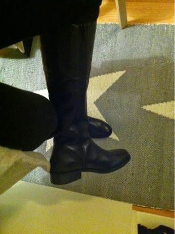nahkasaappaat, mustat, vagabond, boots, leather boots,