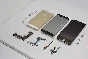 iPhone5Sのパーツ