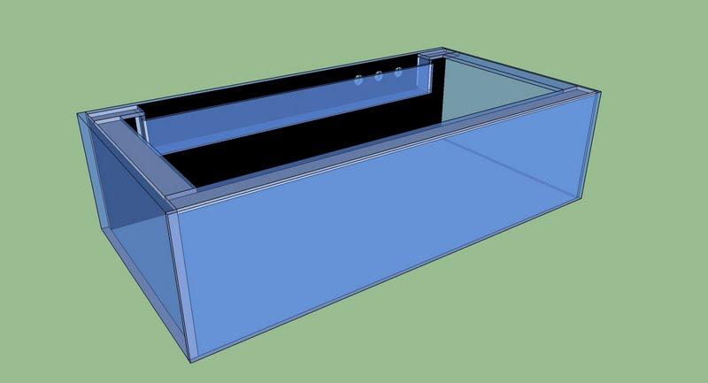 DIY 150g all glass aquarium The Planted Tank Forum