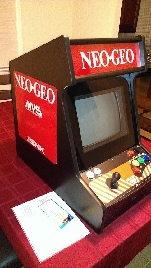 FS Game: Neo Geo MVS Bartop System (Philly 'burbs) - KLOV/VAPS Coin