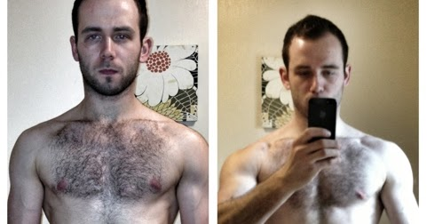 Week 1 and Week 7 (physique) | My 14 Week Body Transformation