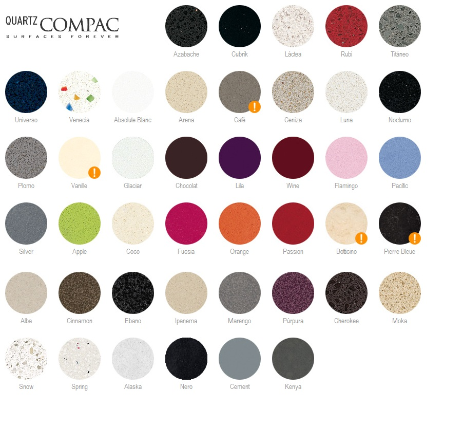 Dise o de interiores ram n mart la encimera elemento - Carta colores silestone ...