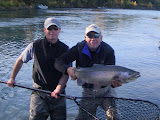 Photo of Guided Fly fishing for Rainbow Trout on Alaska's Kenai River