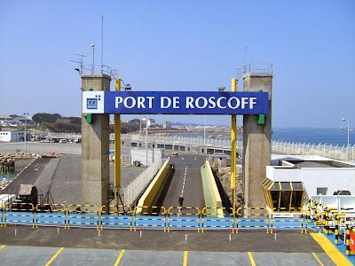 LNG - port morski w Roscoff, który zostanie przystosowany do bunkrowania gazu ziemnego