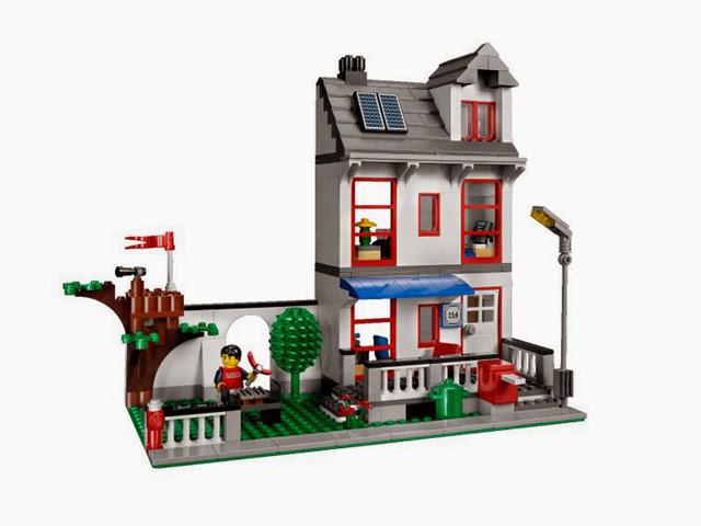 8403 レゴ シティ・ハウス