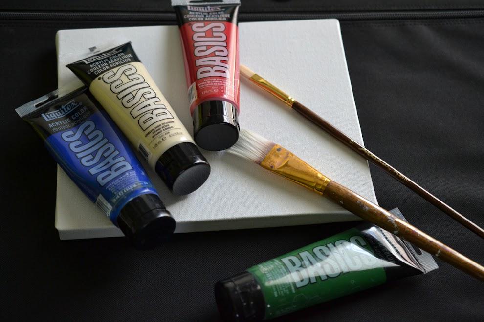 Review: Liquitex Basics Acrylic Paint | Parka Blogs