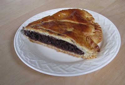 Galette au chocolat et aux amandes - recette indexée dans les Desserts