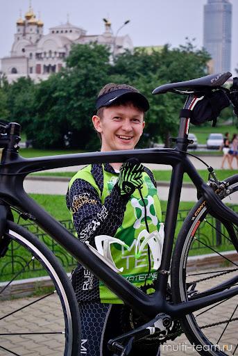 Велосипед к Ironman Nice 2012 - Команда Multi-Team