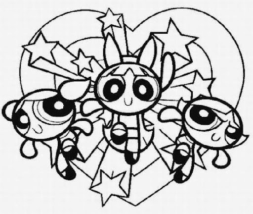 Halloween Powerpuff Girls Coloring Pages Powerpuff Girls Coloring Pages
