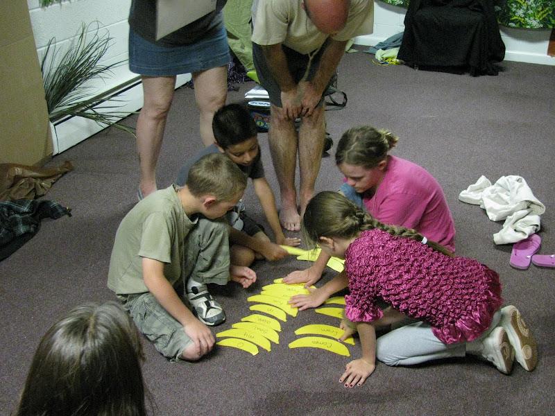 Children Learning Godly Principles