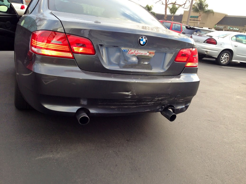 2013 Bmw 328I Windshield Replacement Cost rear ended 15000$ damage - bmw 3-series (e90 e92) forum