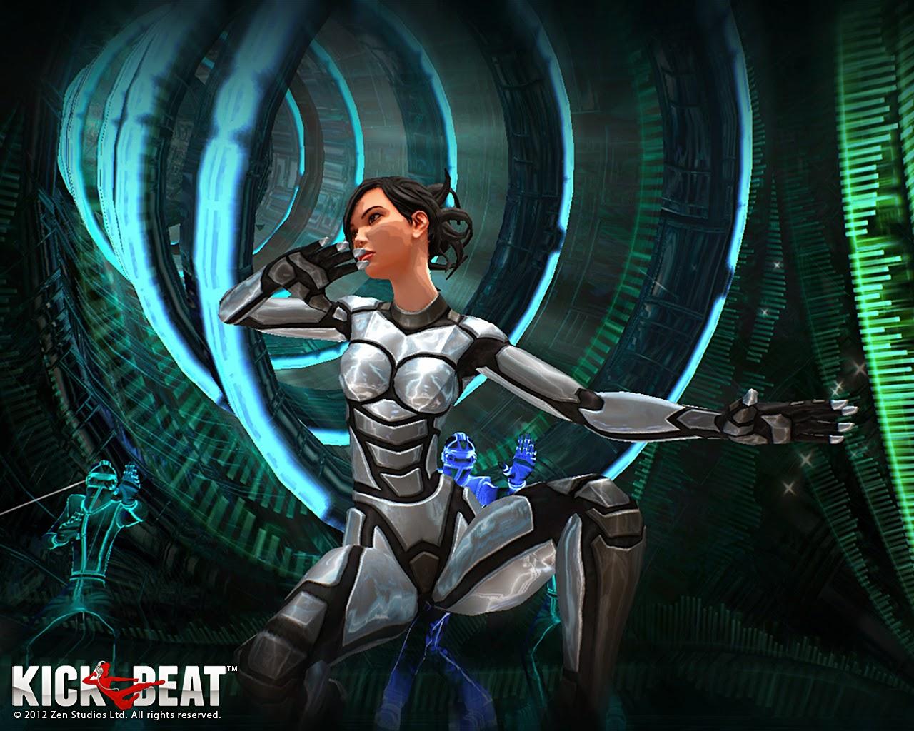 Loạt hình nền tuyệt đẹp của game âm nhạc KickBeat - Ảnh 6