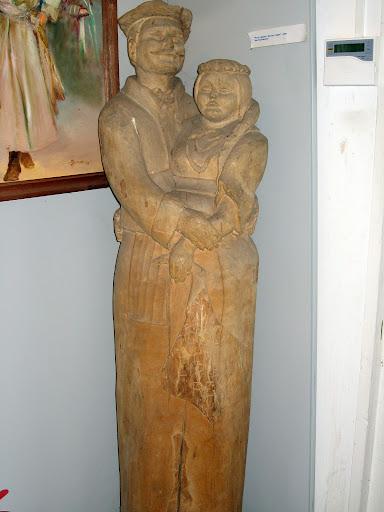 Muzeum Regionalne w Lipcach, Boryna, Jagna, rzeźba
