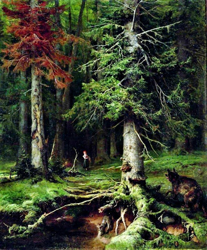 Julius Sergius von Klever - Little Red Riding Hood