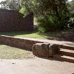 Steps past Wattamolla toilet block (35252)