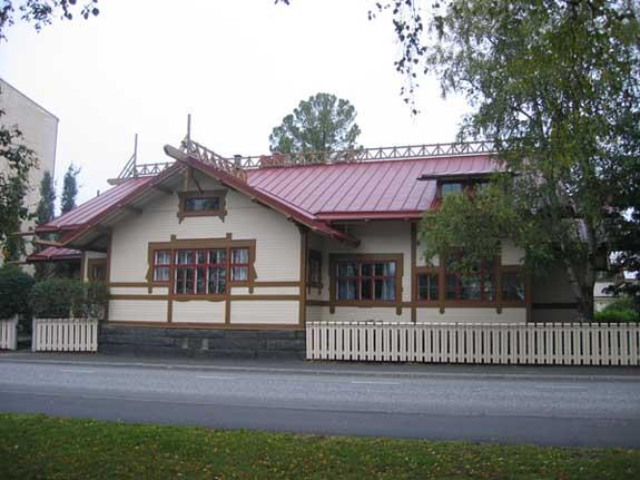 De villa van Lars Sonck in Tornio