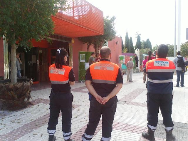 Parte del Dispositivo de Protección Civil Benalmádena
