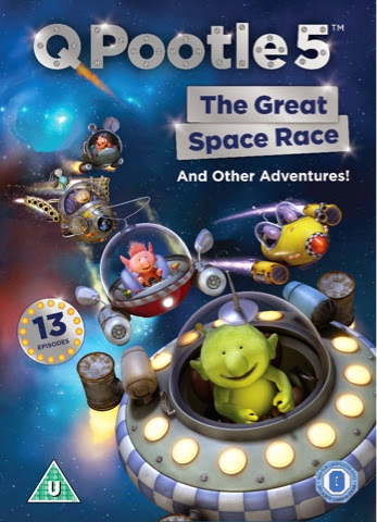 Q Pootle 5 The Great Space Race And Other Adventures! DVD