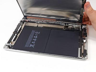 iPad Airのバッテリー