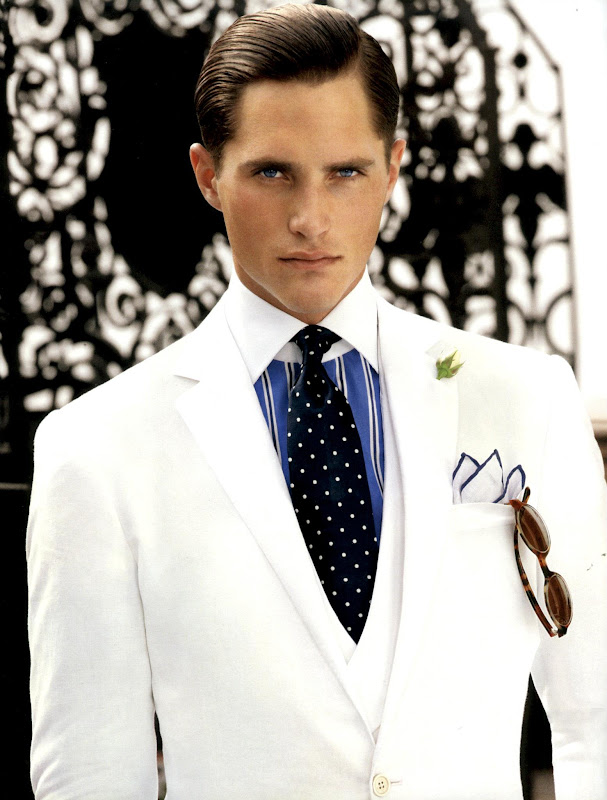 Ollie Edwards by Sheila Metzner for Ralph Lauren Purple Label S/S 2012