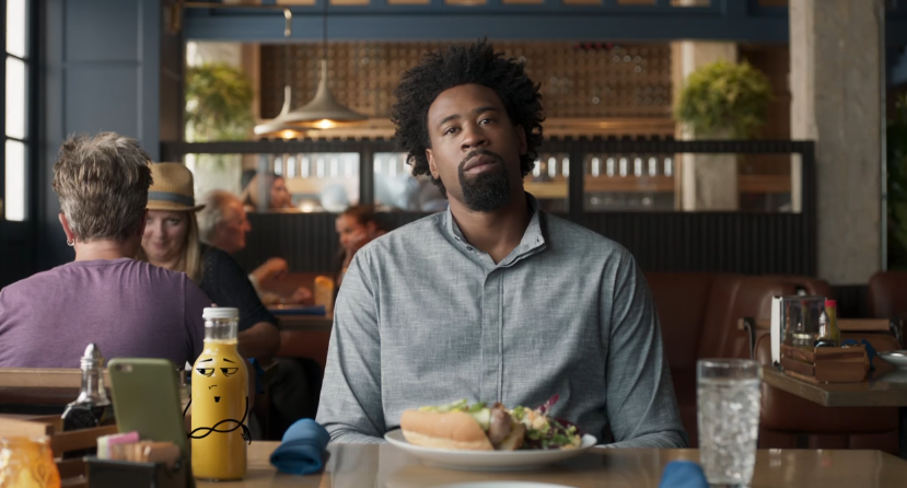 Google Duo Ad Featuring Blake Griffin & DeAndre Jordan As Ketchup & Mustard