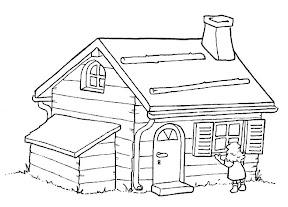 Boerderij Schuur Kleurplaat Bauernhaus 4 Gratis Malvorlage In