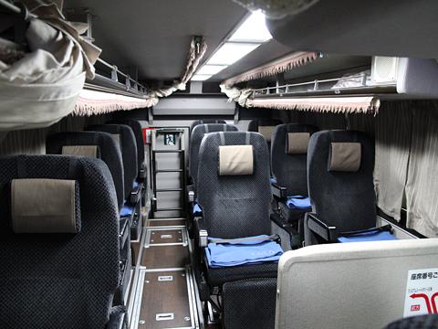 西日本鉄道「はかた号」 0002 2階席ビジネスシート その1