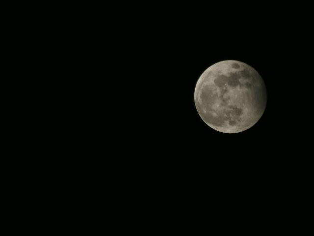 說好的月偏蝕呢?