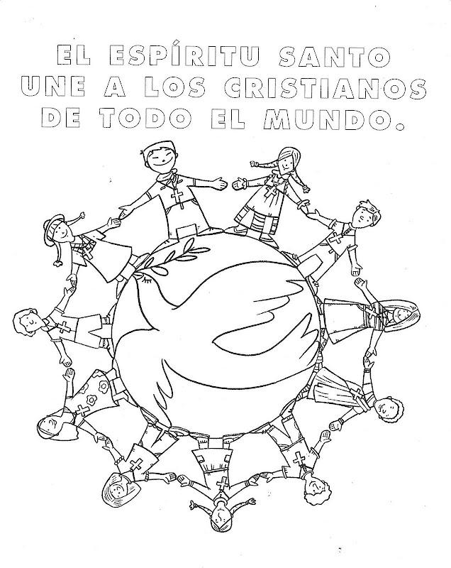 Imagenes De Dibujos Para Colorear Cristianos Ninos