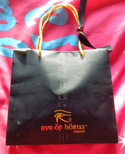 A picture of the bag of Eye of Horus Mascara