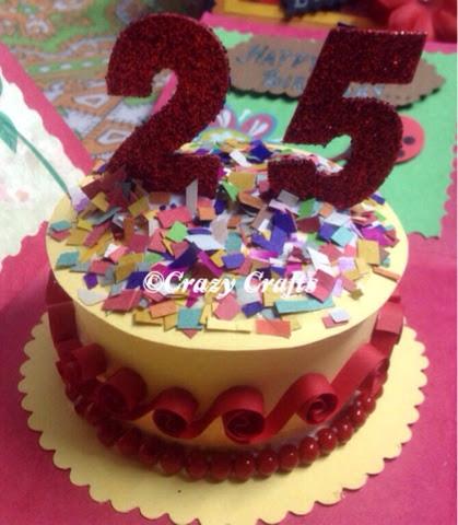 Handmade Paper cake