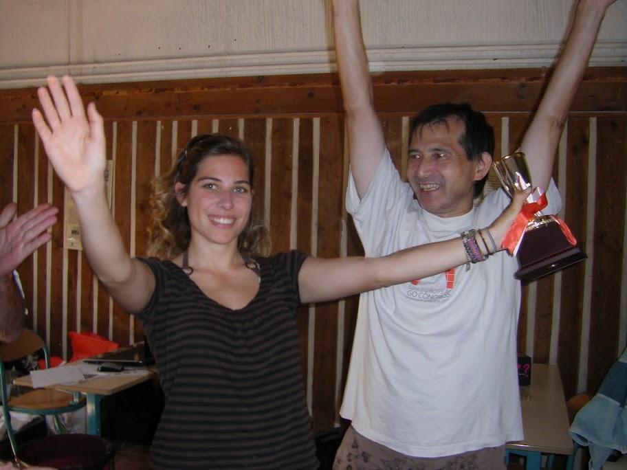 Julie Artigny et Toru Imamura-Cornuejols