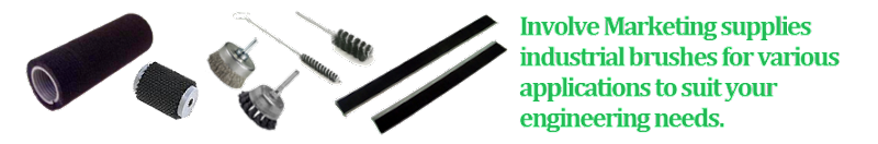 Involves Marketing supplies industrial brushes for various applications to fulfill your technical needs in manufacturing process. Brush Manufacturer.