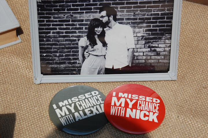 Vintage home made buttons for wedding favors