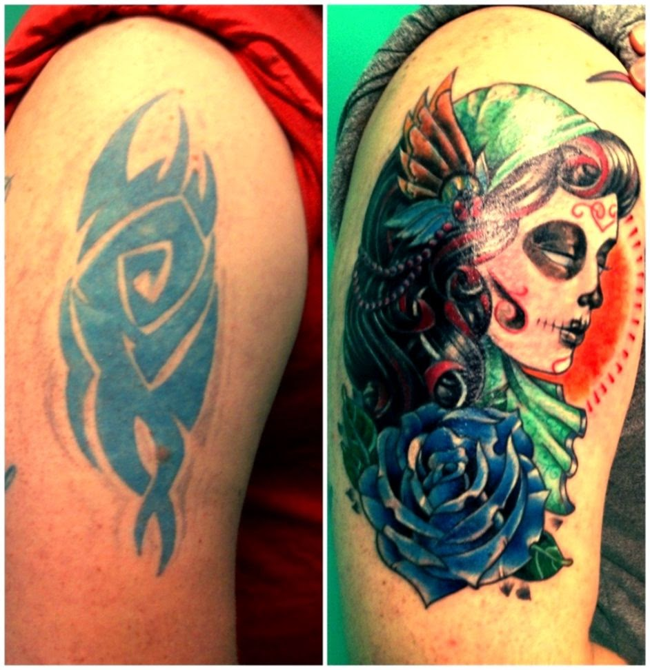 Cover up of my first and stupidest tattoo – Ashley Ledford in