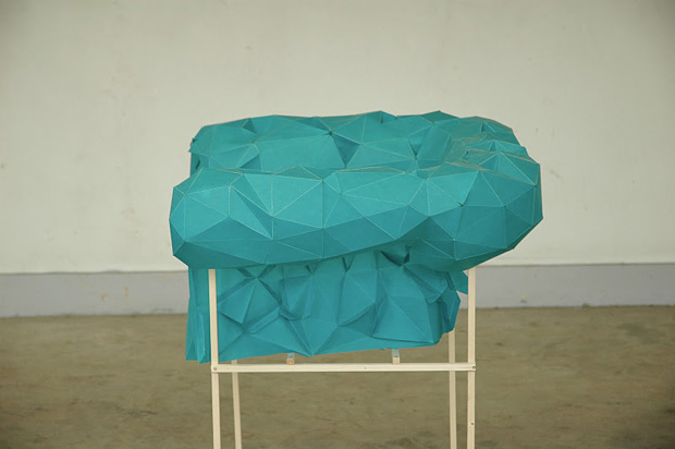 Polygon Armchair by Christian Fiebig